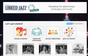 Linked Jazz homepage